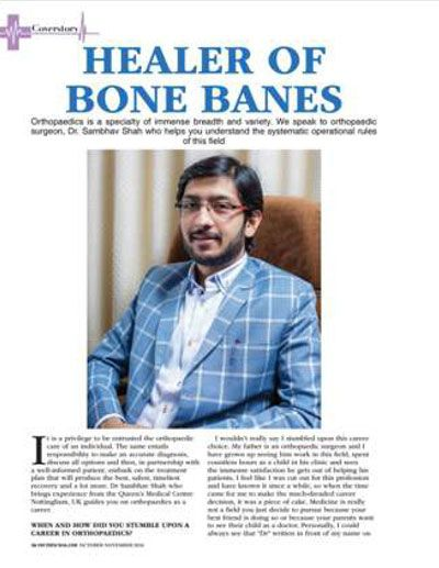 Dr Sambhav Shah - Spine Surgeon & Pain Specialist in mumbai